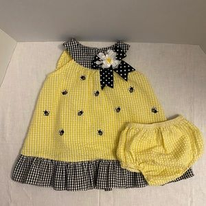 Rare Editions Baby Girl's 2-Piece Sundress Outfit